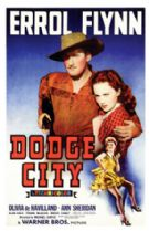 Dodge City 1939 DVD - Errol Flynn / Olivia de Havilland